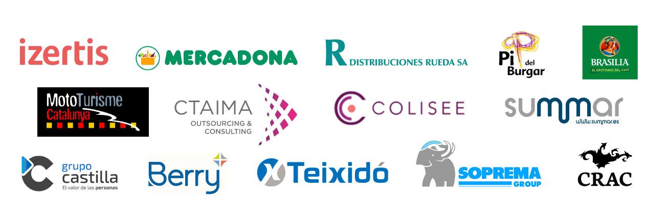 Empresas qué confían en La Pastoreta